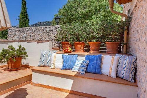Superior Double or Twin Room with Terrace Finca Hotel Son Palou 14