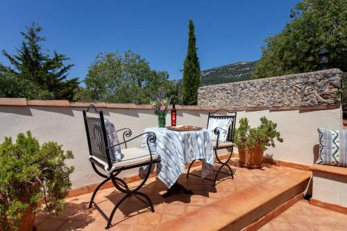 Superior Double or Twin Room with Terrace Finca Hotel Son Palou 15