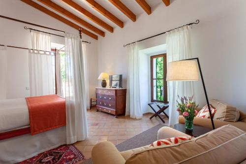 Superior Double or Twin Room with Terrace Finca Hotel Son Palou 2
