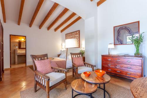 Junior Suite mit Terrasse Finca Hotel Son Palou 13