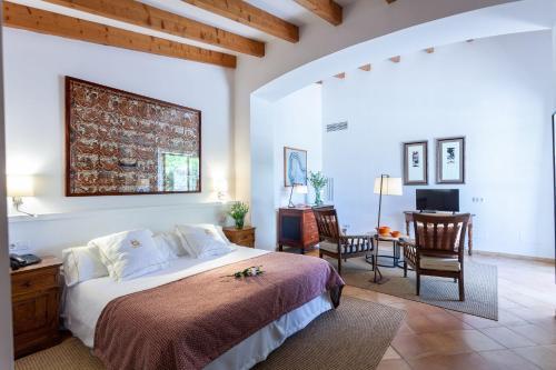 Junior Suite mit Terrasse Finca Hotel Son Palou 14