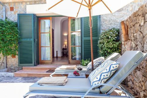 Junior Suite mit Terrasse Finca Hotel Son Palou 5
