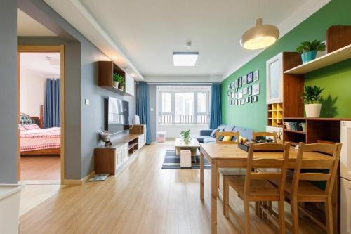 . Rushi-Minimalism Apartment (Near Convention Center)
