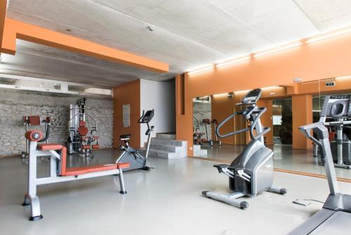 Habitación Business Doble con acceso al gimnasio Hotel Spa Vilavella 4
