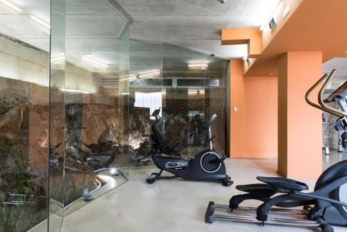 Habitación Business Doble con acceso al gimnasio Hotel Spa Vilavella 3