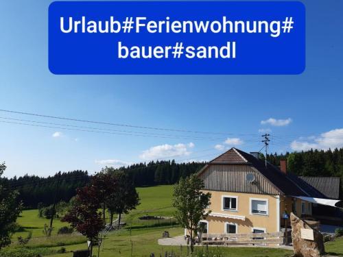 Hotel-overnachting met je hond in Ferienwohnung Bauer - Sandl