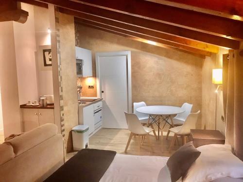 Estudio con cama extragrande y sofá cama - Uso individual Osabarena Hotela 3