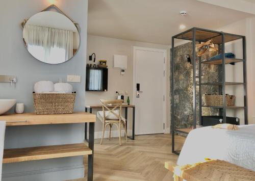 Habitación Superior con cama extragrande Hotel Abaco Altea 12