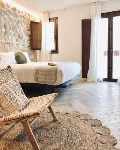 Habitación Superior con cama extragrande Hotel Abaco Altea 8