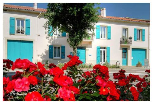 Chambre d'hôtes La Cour Des Saligues - Accommodation - Riscle