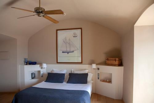 Habitación Doble con terraza y vistas al mar  El Far Hotel Restaurant 8