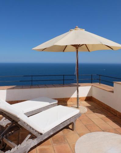 Habitación Doble con terraza y vistas al mar  El Far Hotel Restaurant 3