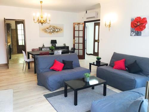Appartement le Soleil 140 m2 climatisé parking privé proche Sanctuaires - Location saisonnière - Lourdes