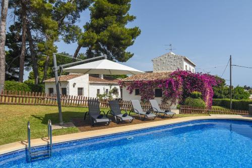 Xabia Villa Sleeps 18 with Pool and Free WiFi
