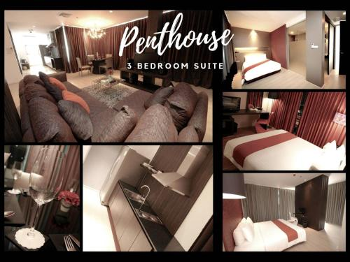 Penthouse Three-Bedroom Suite