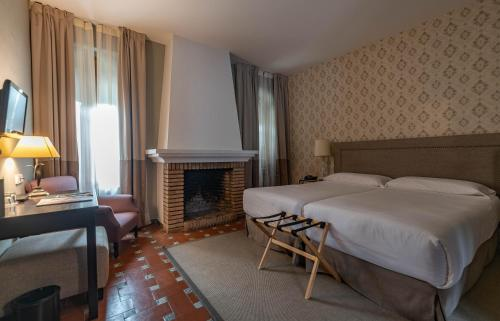 Double Room La Almoraima Hotel 1