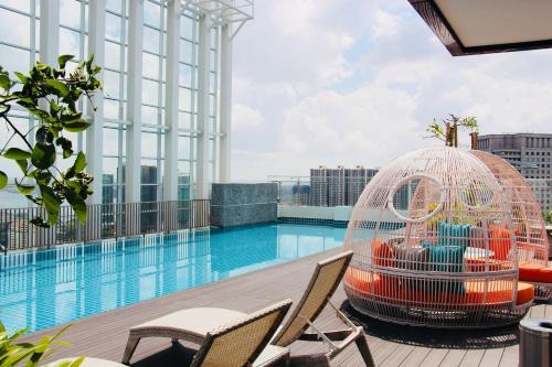 A High Floor, Homely Suasana Suites JB, FREE Parking, Johor Bahru