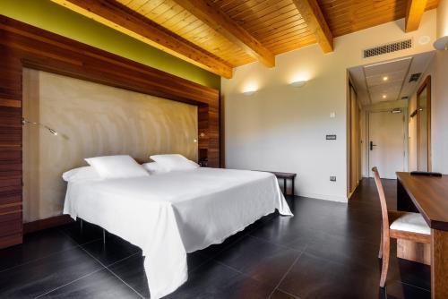 Doppelzimmer mit Bergblick Hotel Spa Aguas de los Mallos 9