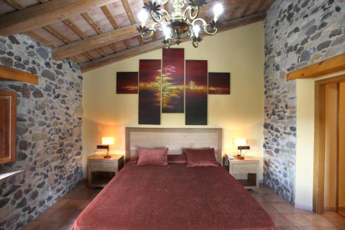 Double Room - nº 2 Jacuzzi for one person Mas la Casassa 1