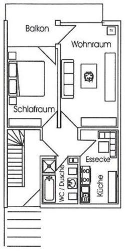 No chain in Haus Erna Dahlienweg 4c - d Haus Erna