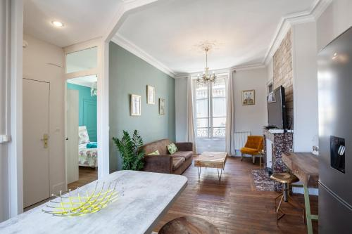 Appartement Milhan, quartier Aigle Championnet 40m2 - Hotel - Grenoble
