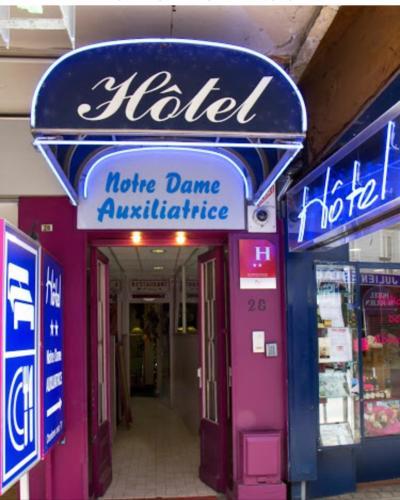 Notre Dame AUXILIATRICE - Hôtel - Lourdes