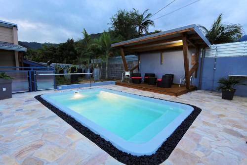 Villa with 2 bedrooms in EntreDeux with wonderful mountain view private pool enclosed garden