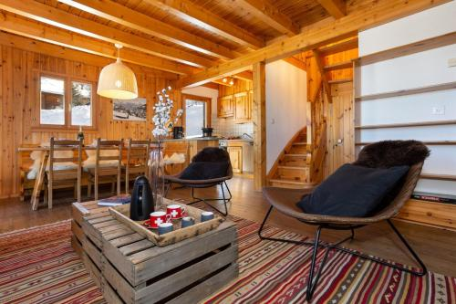 Relaxing Sauna Chalet for 6 persons SKI IN SKI OUT - La Tzoumaz