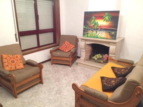. Apartment with 2 bedrooms in Espinho with furnished terrace 600 m from the beach