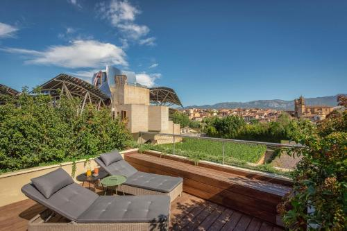 Premium Spa Terrace, Guest room, 1 King, Gehry building view Hotel Marqués de Riscal, a Luxury Collection Hotel, Elciego 5