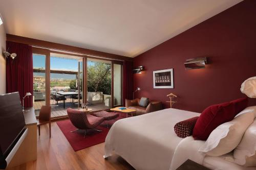 Premium Spa Terrace, Guest room, 1 King, Gehry building view Hotel Marqués de Riscal, a Luxury Collection Hotel, Elciego 6