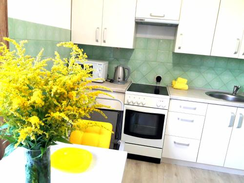 Two-Bedroom Apartment near Airport and Victoria Gardens, Pivdenniy-Expo