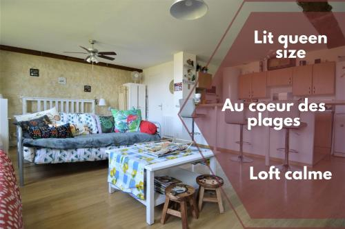Loft at the heart of Overlord Beaches