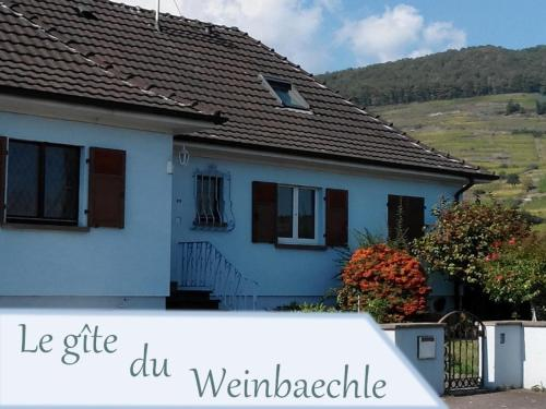 Gite du WEINBAECHLE - Accommodation - Kientzheim