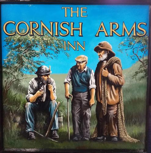 . Cornish Arms Inn Port Isaac 2 miles