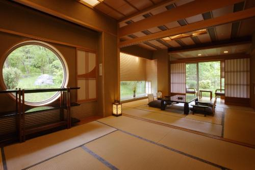 Japanese-Style Suite with Open-Air Bath