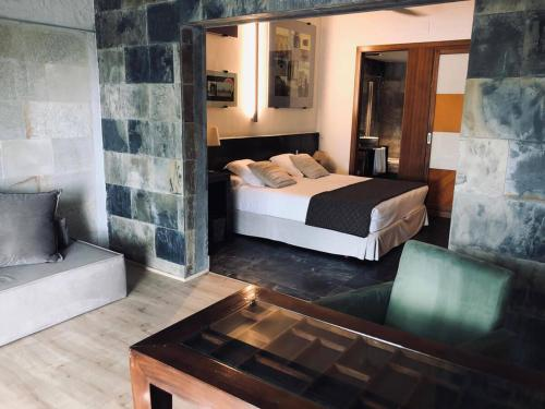 Deluxe Double Room with Pool View Hotel Monument Mas Passamaner 9