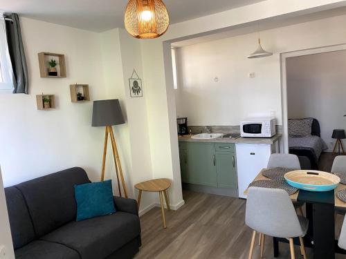 Le Moderne, T2, Parking et wifi - Location saisonnière - Thonon-les-Bains
