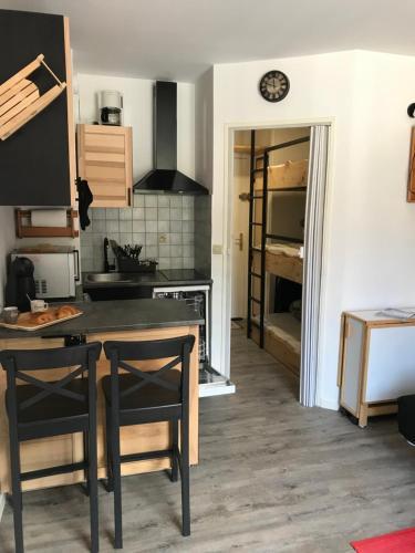 Studio chaleureux à la Foux D'Allos - Location saisonnière - Allos