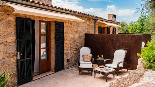 Double Room with Terrace - single occupancy Cases de Son Barbassa Hotel & Restaurant 5
