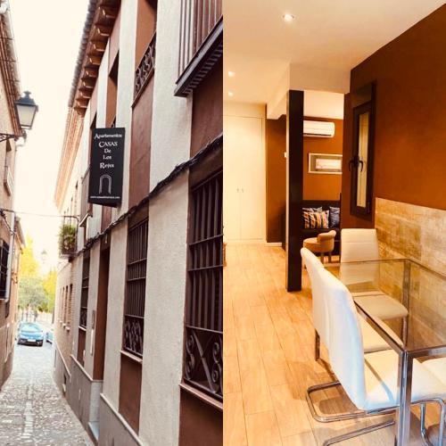. Apartamentos Turísticos Casas de los Reyes