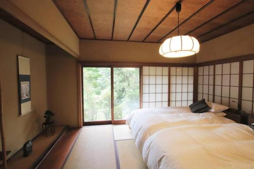 Historic Japanese Rooms with Open-air hot springs