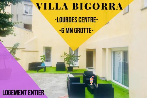 Villa Bigorra Lourdes centre Le Sanctuaire La Grotte , parking - Location saisonnière - Lourdes