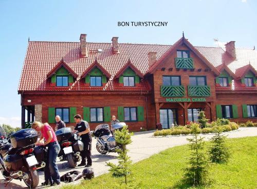 . Hotelik Mazurska Chata-BONY,restauracja, blisko aqapark, centrum,jezioro