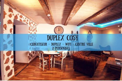 DUPLEX COSY - SUPERDOLE - Apartment - Dole