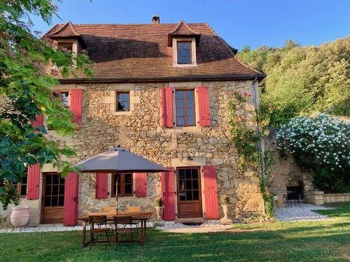Les Volets Rouges - Location saisonnière - Castels-et-Bézenac