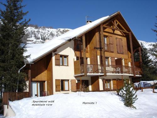 Marmotte Le Monêtier Apartment - Le Monêtier-les-Bains