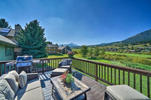 Cozy Mtn-View Ski Condo at Big Sky Golf Course! - Apartment - Big Sky
