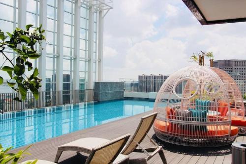 A Modern & Bright Suasana Suites in Johor Bahru, Johor Bahru