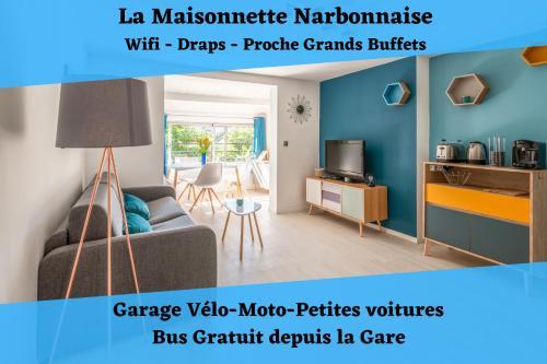 La Maisonnette Narbonnaise (Proche Grands Buffets) - Location saisonnière - Narbonne